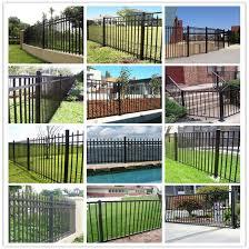 china steel fence mesh corrugated steel fence sheet tubular steel fence china security fence iron fence