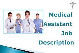 What Do Medical Assistants Do In Hospitals Medical Assistant Job Description