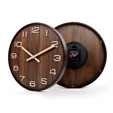 large office wall clocks. Large Size Big 14 Inch Wood Wooden Wall Clocks For Home Office Decor Simple Design Watch Clock No Glass-in From \u0026 Garden On R