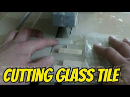 how to cut glass tile on wet saw easy way to cut mosaic glass tile