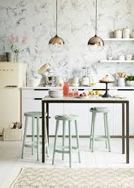 westelm lighting. two ombre mirrored pendant lights from west elm add striking style to this beautiful kitchen westelm lighting h