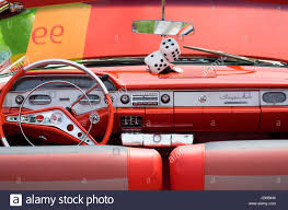 USA, Massachusetts, Beverly Farms, antique cars, 1960s Chevrolet ...