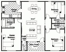 Outstanding Home Architecture House Plan Bedroom Bungalow House