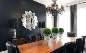 black chandelier dining room within designs 5