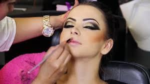 tutorial new years eve easy glitter smoky makeup tutorial