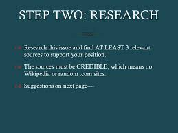 focused thesis expository essay ppt  6 step