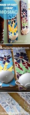 30 stunning diy mosaic craft projects for easy home decor check out this easy idea