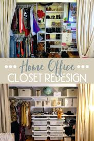 office closets. Home Office Closet Redesign With The Container Store O Blonde Closets