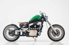 virago 250 cc bobber motorcycle