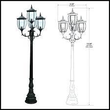 lamp posts outdoor outdoor lamp post to enlarge lamp post outdoor clock
