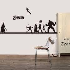 Creative DIY wall art home decoration Iron Man Avengers 2 & Hulk & Captain  America &