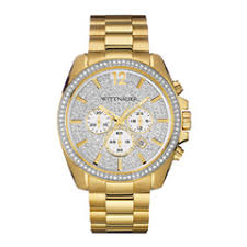 zales wittnauer watches mens chronograph watches ladies diamond men s wittnauer crystal accent gold tone chronograph watch white dial model wn3051