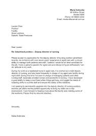 Cover Letter Examples Rn Example Of A Resume Cover Letter Filename