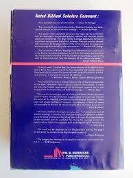editors gerhard kittel gerhard friedrich translated by geoffrey w bromiley el theologigal dictionary of the new testament 10 volumes