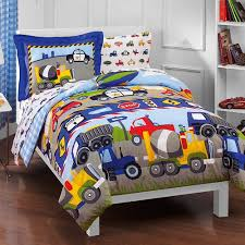 bed sheet and comforter sets dream factory trucks reversible twin comforter set with sheets