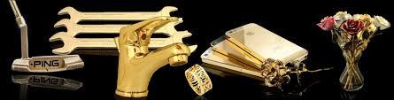 gold plating various items
