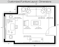 room furniture layout. Living Room, Room Floor Plan Redesigned By Interior Designer Furniture Layout And Color