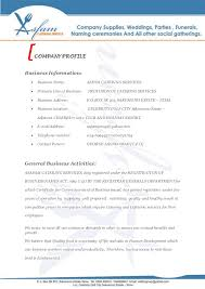 Commercial Proposal Format Custom ASFAM CATERING SERVICES BUSINESS PROPOSAL