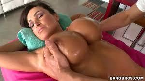 Lisa Ann is getting the hot and deep massage HDZog