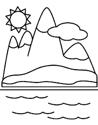 Small Picture Mountains Coloring Page crayolacom