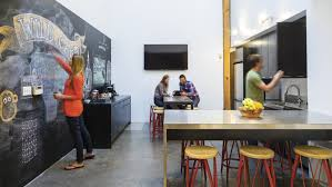 creative agency office. Theatrical Ad Agency Wild Card Thrives In Creative, Laid-Back Workspace Creative Office D
