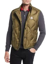 Quilted Nylon Vest | Neiman Marcus & Quick Look. Moncler · Canut Quilted Nylon Vest Adamdwight.com