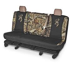 universal switch back camo bench seat cover browning