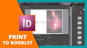 How To Print To Booklet In Indesign Book Design Youtube