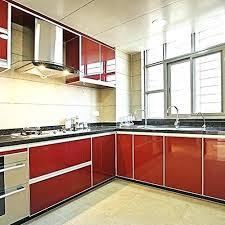 red kitchen countertop adhesive paper kitchen contact self shelf liner inches red red quartz kitchen worktops red kitchen countertop