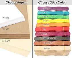 wedding program fan kit cool color choices at craftysticks com diy wedding fans