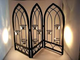 fireplace candle holders uk screens minuteman international two tier black candelabra holder wrought iron