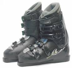 Ski Boot Size Chart 26 5 Details About Salomon Sensi Fit Performa Ski Boots Size 8 5 Mondo 26 5 Used