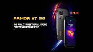Ulefone Armor 11T 5G là điện thoại thông minh mới có camera chụp ảnh nhiệt  - VI Atsit