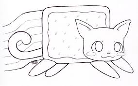 Small Picture Printable Nyan Cat Coloring Pages Google Twit In Style Kids