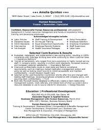 Resume Human Resources Human Resources Director Resume Best Sample Cute Resource Manager 18