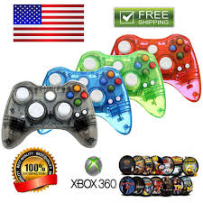 wireless usb wired controller gamepad for xbox 360 xbox one pc win 7 8 10 usa stock