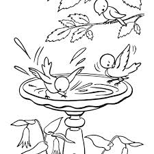 Coloring Pages For Spring Flowers Coloring Pages For Spring Flowers