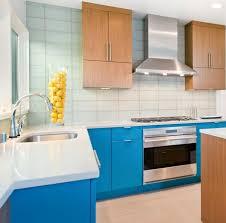 Aquamarine kitchen color scheme