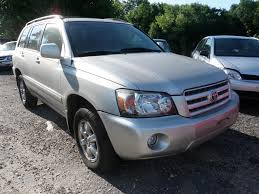 2004 Toyota Highlander Quality Used OEM Replacement Parts :: East ...