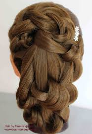 Step By Step Loosely Draped Knotted Hairstyle