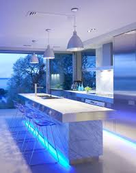 ... Home Decor, Modern Home Bars Luxury Home Bars Modern Blue Futuristic  Design Of The Modern ...