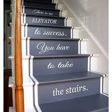 Stairs Quotes Cool Shop Quotes Staircase Stairway Stairs Phrase Art Mural Vinyl Decal