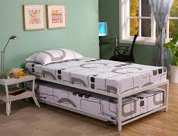 twin bed with pop up trundle. Metal Twin Bed With Pop Up Trundle