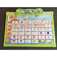 Mua Đồ chơi bảng nói song ngữ Anh Việt 6 lĩnh vực cho bé học tập Jika Store  chỉ 89.650₫