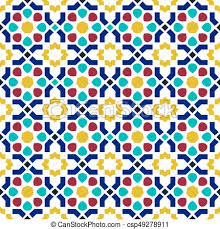 tile patterns background. Fine Background Mosaic Tile Arabic Seamless Pattern Background  Csp49278911 On Tile Patterns Background T