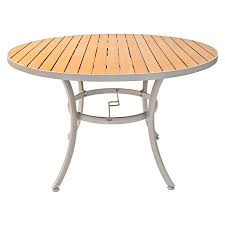 commercial outdoor teak synthetic teak table tops bar restaurant furniture tables chairs and bar stools