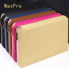 2019 2017 a5 classic leather zipper binder agenda planner organizer notebook macaron large capacity office padfolio manager folder from e