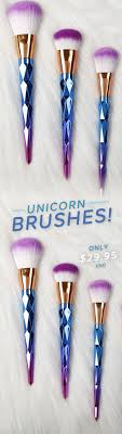 rainbow unicorn brushes 7 piece set in 2018 stuff to unicorn makeup rainbow unicorn and makeup brushes