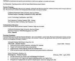 Download Sample Teaching Resume