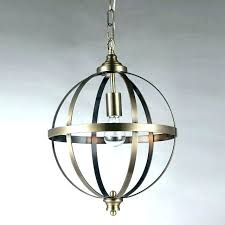 glass globe chandeliers sphere chandelier lighting 1 light brushed bronze pendant modern
